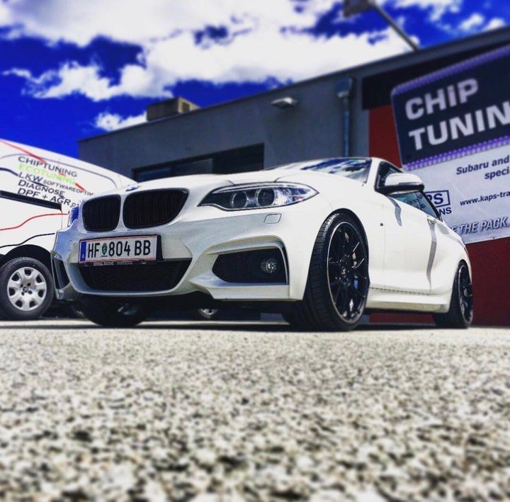CHIPTUNING BMW 220i 184 PS