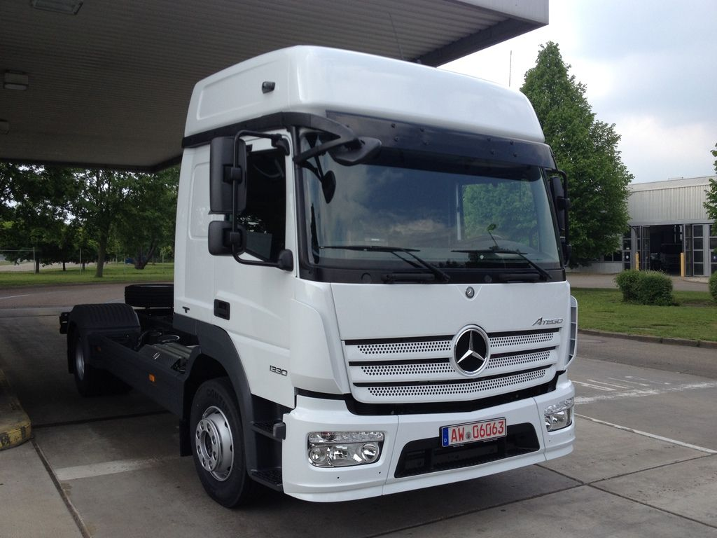 CHIPTUNING MERCEDES ATEGO EURO 6