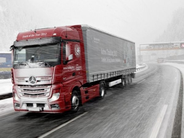 CHIPTUNING MERCEDES ACTROS EURO 6